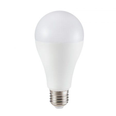 15W LED IZZÓ SAMSUNG CHIP E27 A65 6400K 5 ÉV GARANCIA - PC161