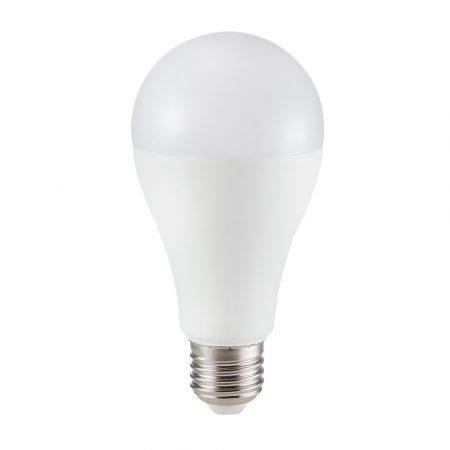 17W LED IZZÓ SAMSUNG CHIP E27 A65 6400K 5 ÉV GARANCIA - PC164