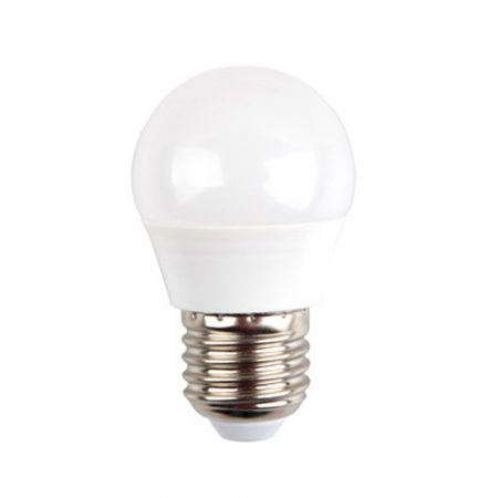 5,5W LED IZZÓ SAMSUNG CHIP E27 G45 4000K 5 ÉV GARANCIA - PC175