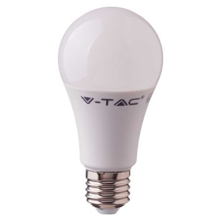 9W LED IZZÓ SAMSUNG CHIP E27 A60 4000K 5 ÉV GARANCIA - PC229