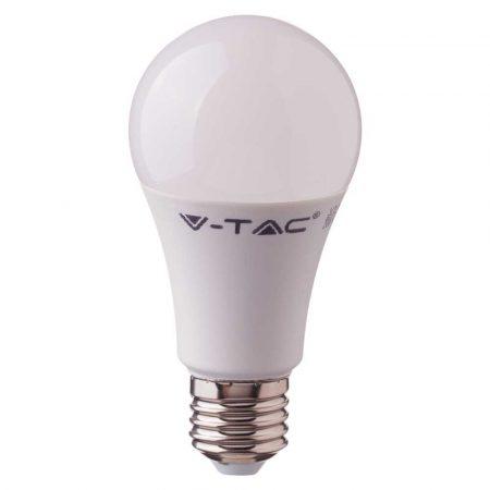 6,5W LED IZZÓ SAMSUNG CHIP E27 A60 6400K A++ 5 ÉV GARANCIA - PC257