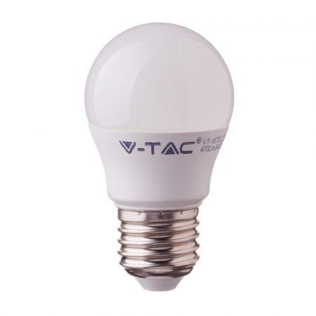 4,5W LED IZZÓ SAMSUNG CHIP E27 G45 6400K A++ 5 ÉV GARANCIA - PC263
