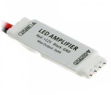 Mini erősítő RGB 5050-es LED szalaghoz 3 * 4A - PC3018