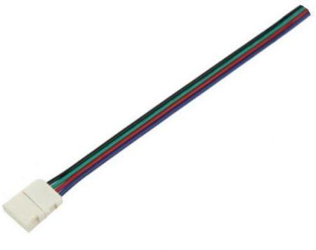 Rugalmas csatlakozó - LED szalag 5050 RGB - PC3502