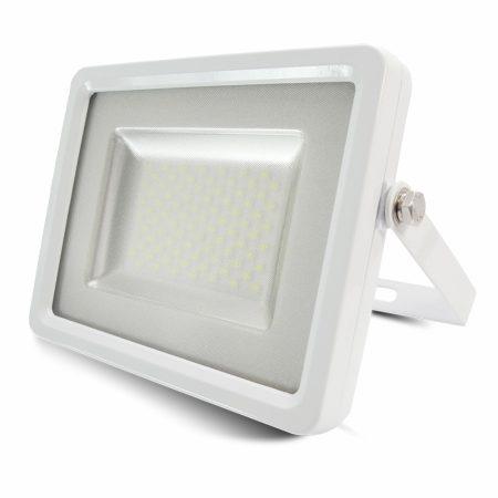 100W LED Reflektor Fehér test SMD Természetes fehér