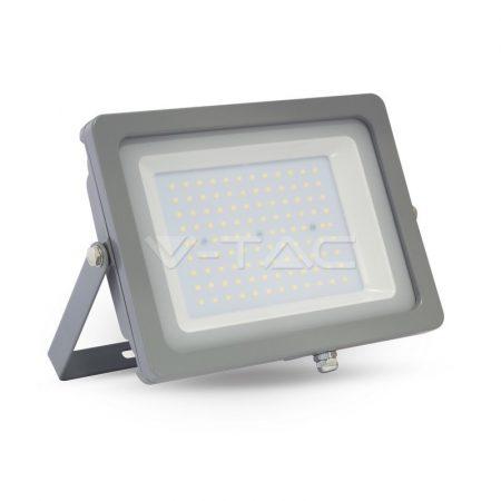 100W LED Reflektor szürke test SMD Hideg Fehér