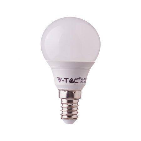 7W LED IZZÓ SAMSUNG CHIP E14 P45 6400K 5 ÉV GARANCIA - PC865