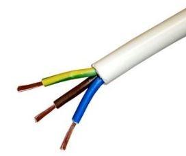 H05VV-F 3x1,5 mm2 sodrott réz erű PVC köpenyes MT kábel 300/500V - PCVILLH05VV-F_3x15