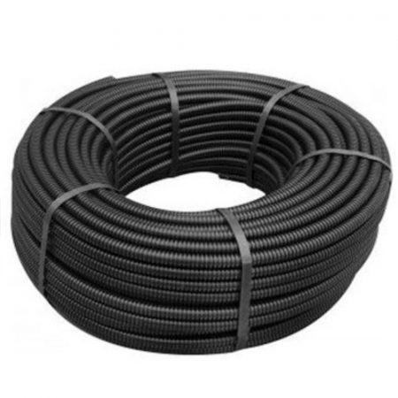 Gégecső SGN 20 fekete, lépésálló 100m/tekercs - PCVILLSZPLAST-SGN-D200
